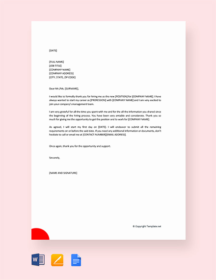 Thank You Letter to Recruiter Inspirational 10 Thank You Letter to Recruiter Pdf Doc