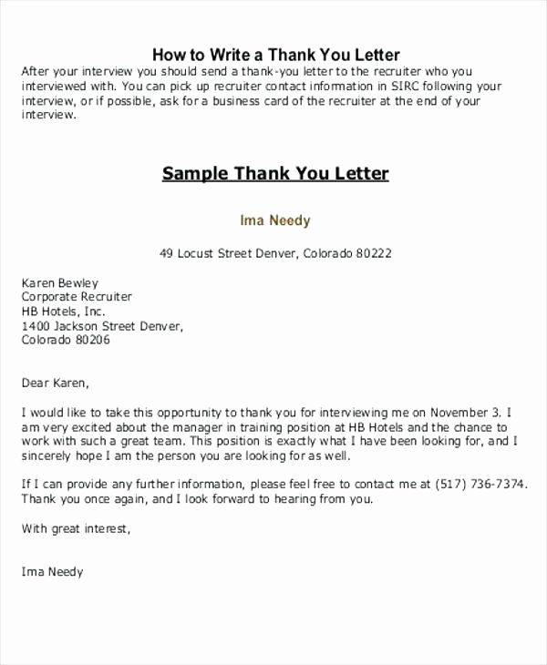 Thank You Letter to Recruiter Inspirational Teacher Appreciation Letter Template Thank You Letters