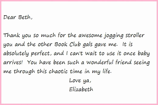 Thank You Note Example Fresh Thank You Notes Samples and Tips