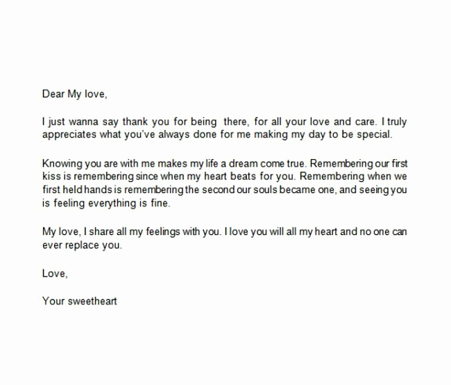 Thank You Note format Best Of 11 Letters About Friendship