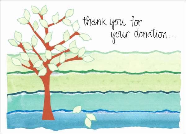 Thank You Notes for Donations Best Of Charity Card Donation Thank You Cards