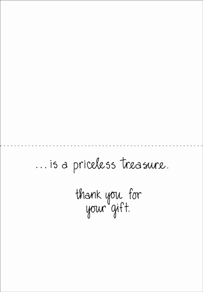 Thank You Notes for Donations Elegant Thank You Card