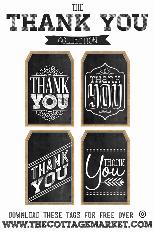 Thank You Tag Template Beautiful Free Printable Thank You Chalkboard Tags & A Happy
