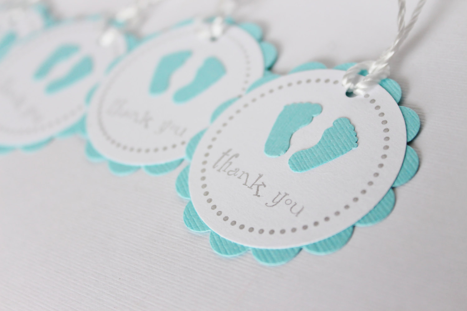 Thank You Tag Template Best Of Baby Shower Favor Tags Baby Feet Thank You Tags by