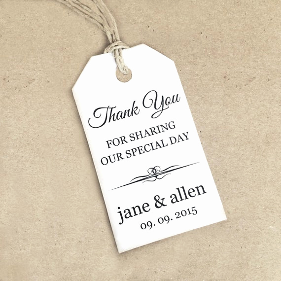 Thank You Tag Template Lovely Thank You Tag Template Small Diy Printable by Crossvinedesigns