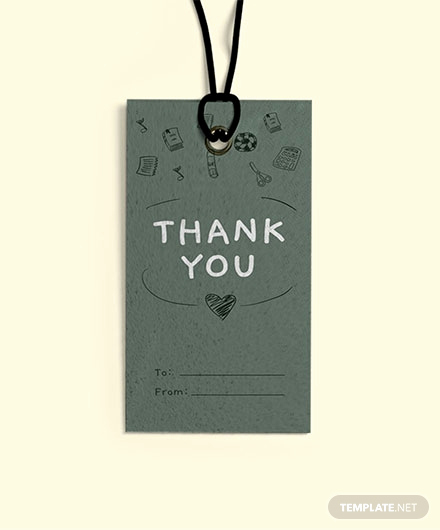 Thank You Tag Template New Free Round Thank You Tag Template Download 47 Tags In