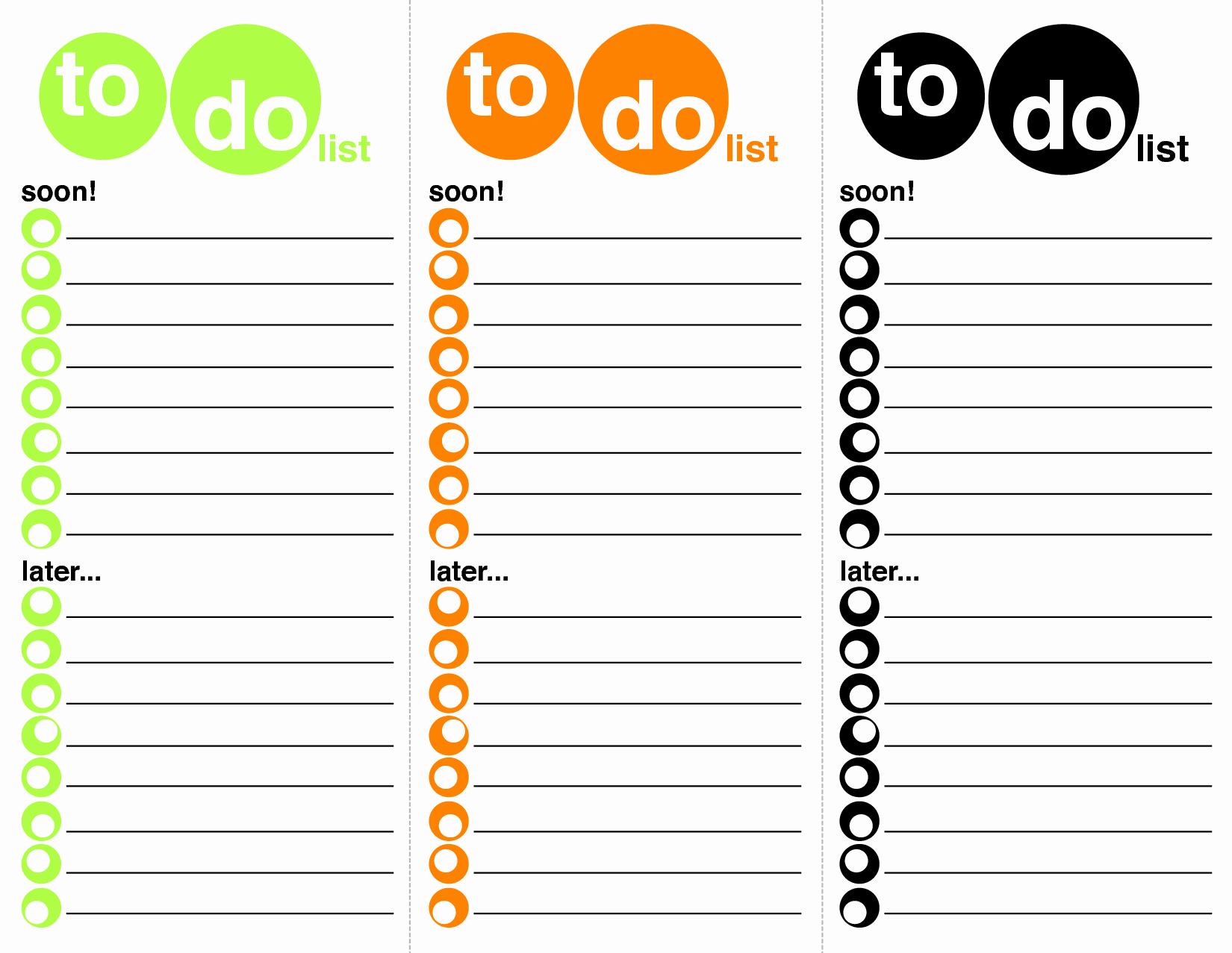 Things to Do List Template Lovely 40 Printable to Do List Templates