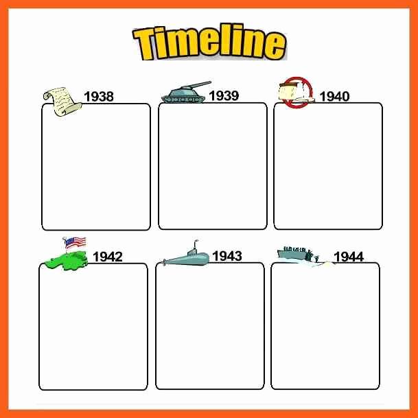 Timeline Templates for Kids Inspirational Timeline Example Blank Daily Timeline Template for Kids