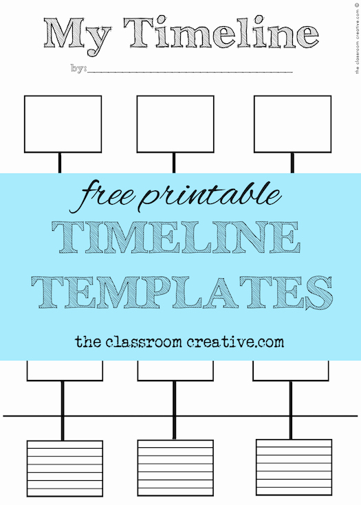 Timeline Templates for Kids Luxury Free Printable Timeline Template and Activity Inspired by