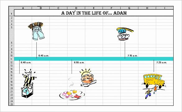 Timeline Templates for Kids New 8 Timeline Templates for Kids Doc Pdf