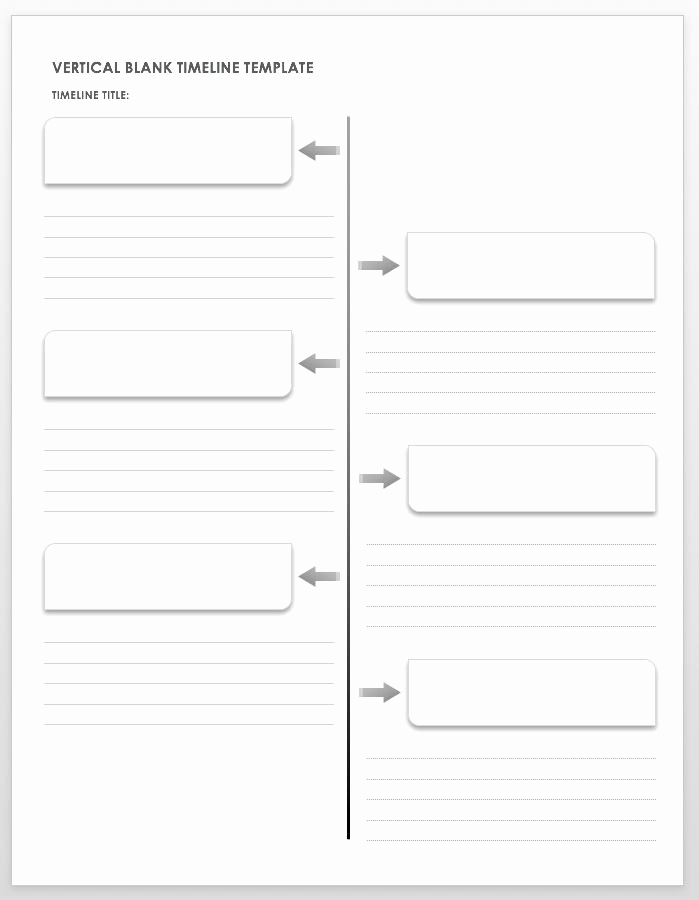 Timeline Templates for Kids New Free Blank Timeline Templates