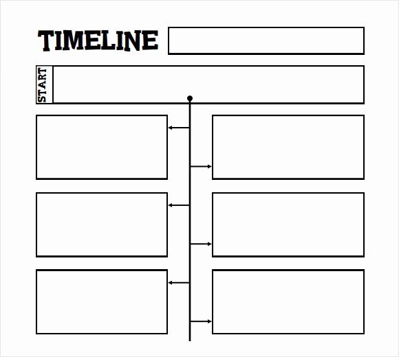 Timeline Templates for Kids Unique 6 Sample Timelines for Kids – Pdf Word