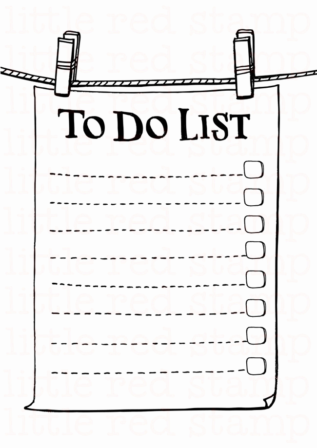 To Do List Pdf Beautiful to Do List Printable Page A4 Pdf Jpg Paper Note Pinch