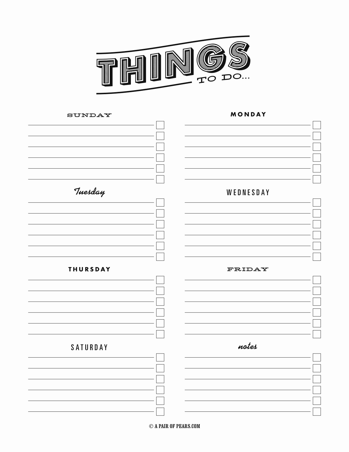To Do List Pdf Inspirational Things to Do Template Pdf Fancy to Do List