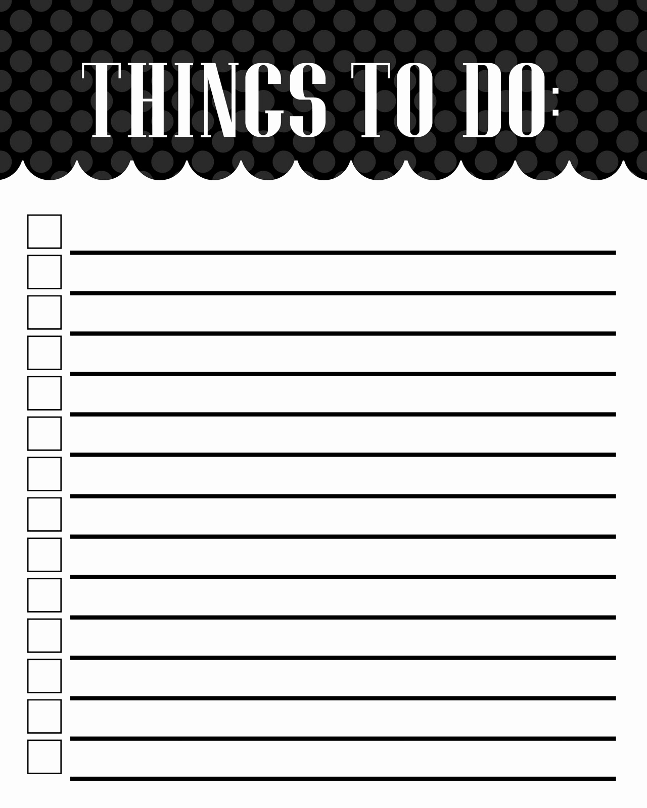 To Do List Pdf Lovely Free Printable to Do List Templates