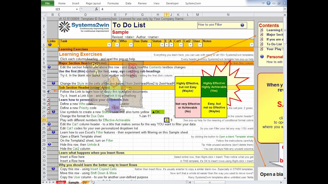 To Do List Template Excel Awesome to Do List Excel Template