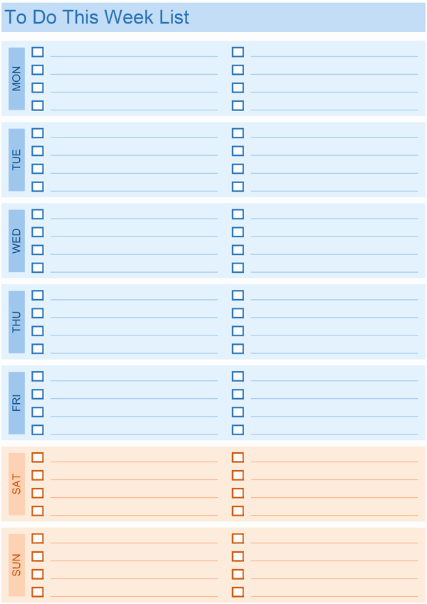 To Do List Template Excel Elegant Daily to Do List Templates for Excel