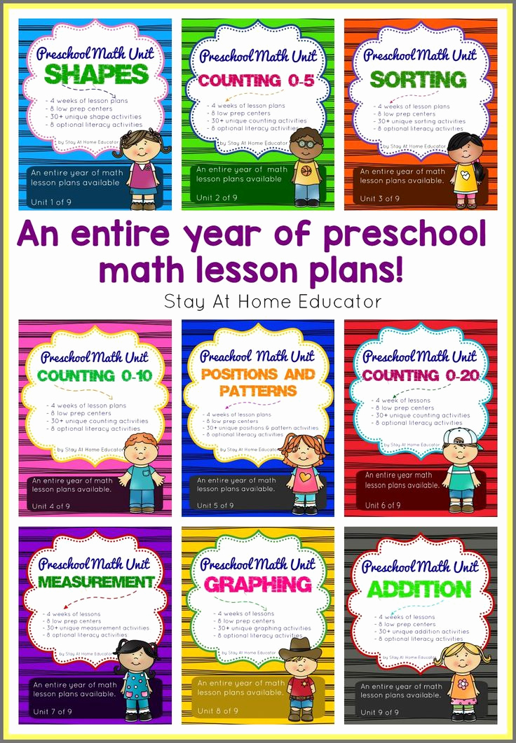 Toddler Lesson Plan Ideas Best Of How to Write Preschool Lesson Plans for Math
