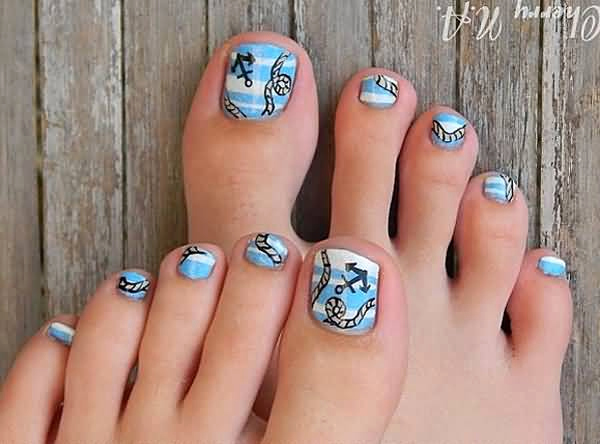 Toe Nail Art Designs Awesome 55 Latest toe Nail Art Designs