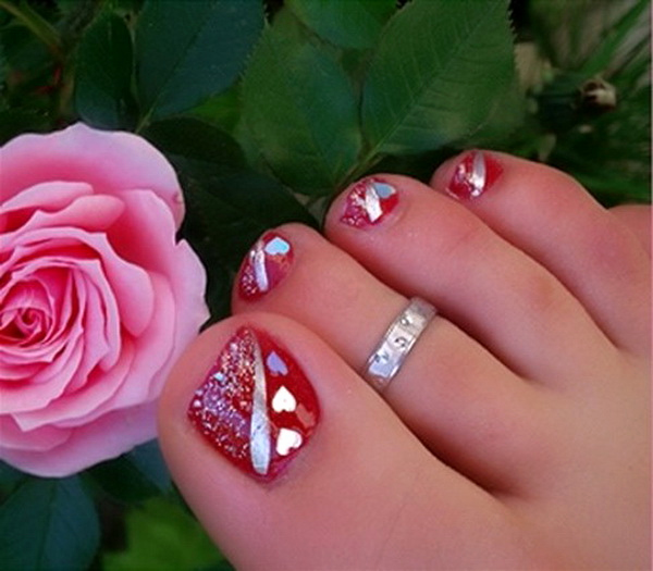 Toe Nail Art Designs Awesome Lamste Famail toe Nail Art Designs for Christmas 2012