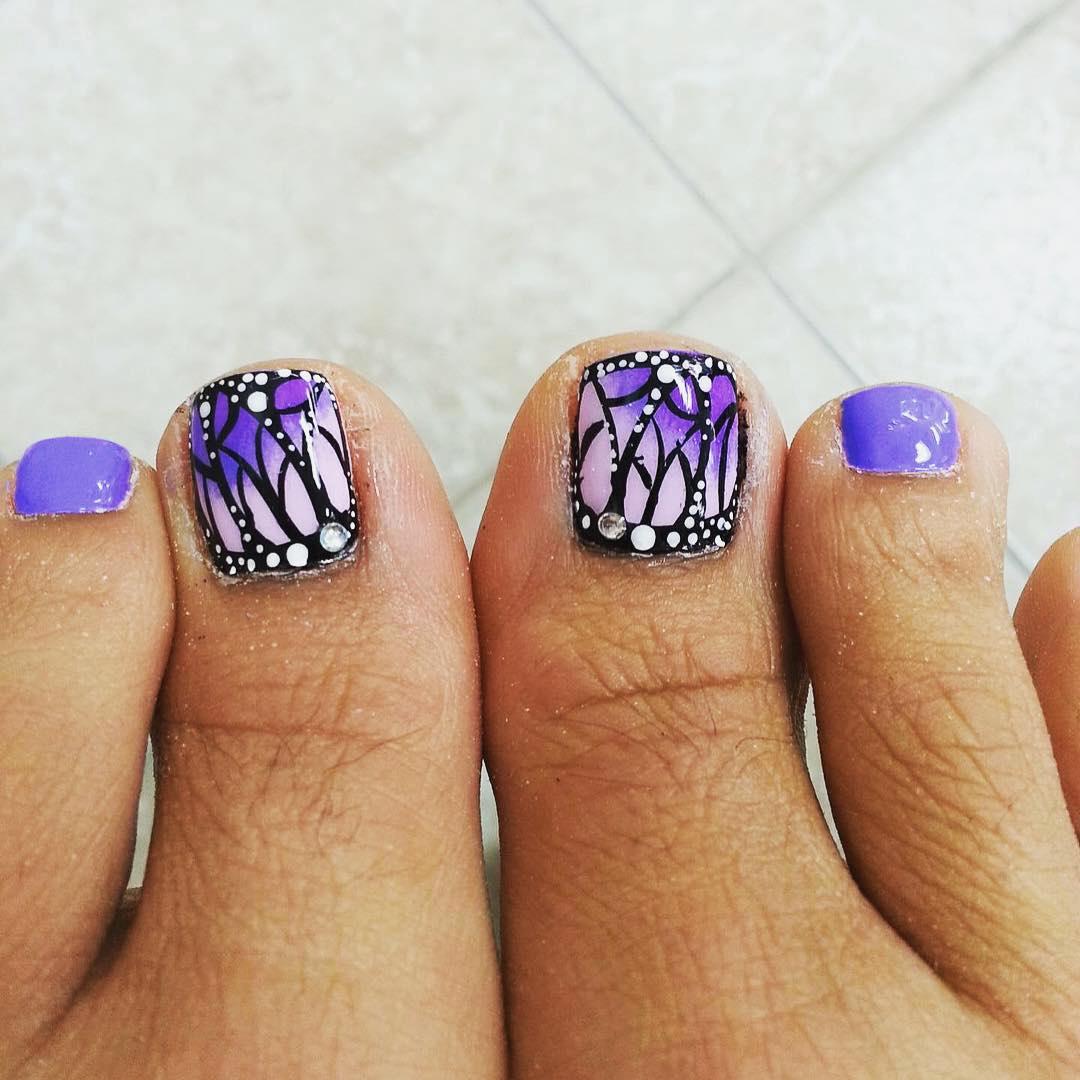 fall toe