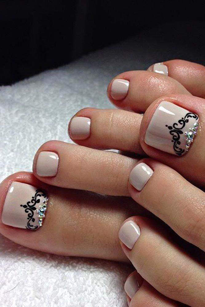 Toe Nail Art Designs Beautiful Best 25 toe Nail Designs Ideas On Pinterest
