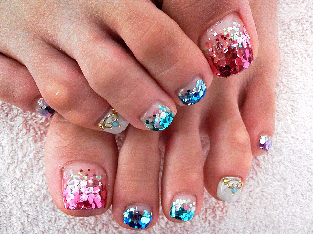 Toe Nail Art Designs Beautiful Cool toe Nail Art Designs