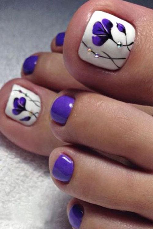 Toe Nail Art Designs Beautiful Summer toe Nails Art Designs & Ideas 2018