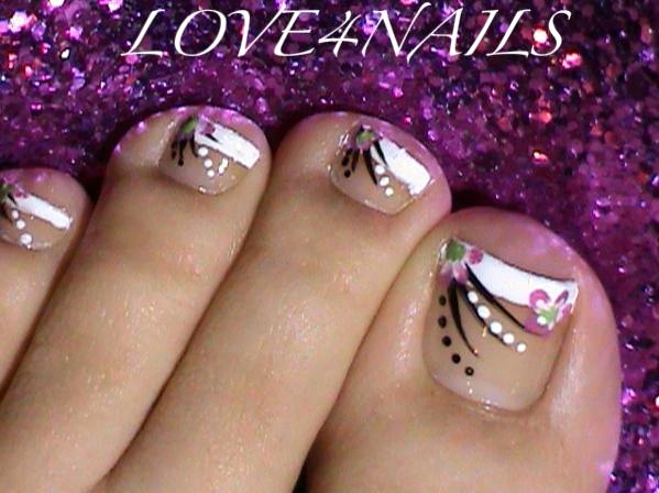 Toe Nail Art Designs Best Of French Manicure toe Nail Art Design Nail Art Gallery
