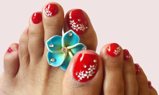 Toe Nail Art Designs Elegant 21 Wedding toe Nail Art Designs