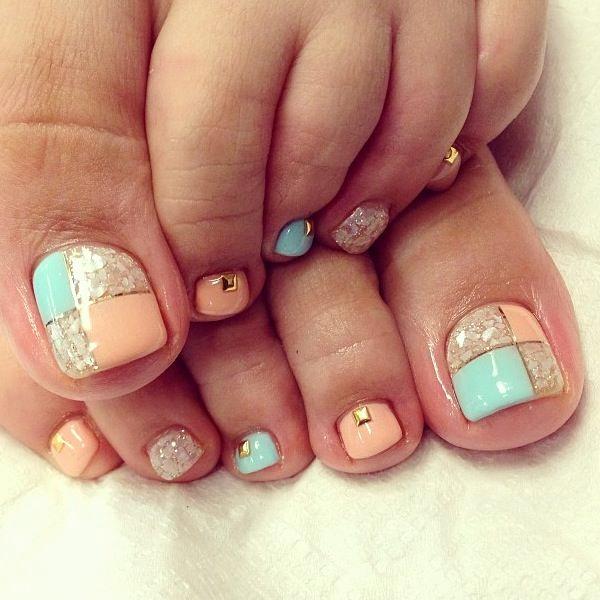 Toe Nail Art Designs Elegant 60 Cute & Pretty toe Nail Art Designs Noted List