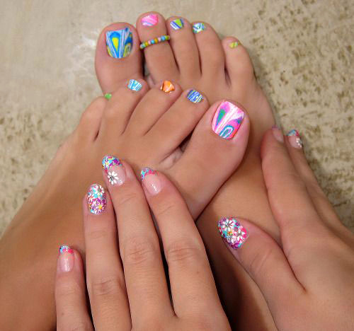 Toe Nail Art Designs Fresh 10 Spring toe Nail Art Designs Ideas Trends & Stickers