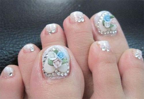 Toe Nail Art Designs Fresh Amazing Christmas toe Nail Art Designs & Ideas for