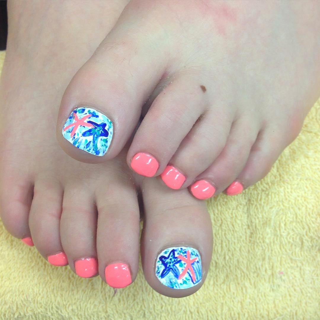 Toe Nail Art Designs Inspirational 26 Summer toe Nail Art Designs Ideas