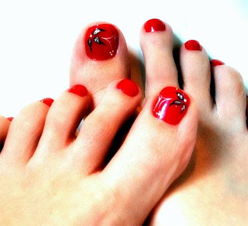 Toe Nail Art Designs Inspirational Amazing Christmas toe Nail Art Designs & Ideas for