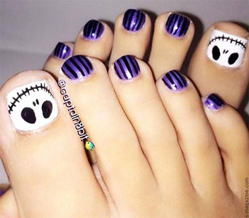 Toe Nail Art Designs Luxury 15 Christmas toe Nail Art Designs Ideas & Stickers 2015