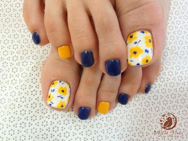 Toe Nail Art Designs Luxury 46 Cute toe Nail Art Designs – Adorable toenail Designs