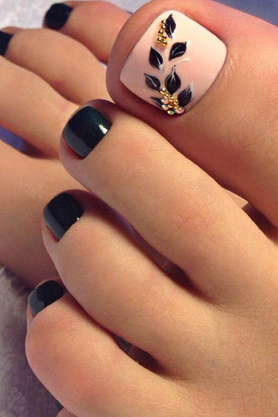 Toe Nail Art Designs Unique Best 25 toe Nail Designs Ideas On Pinterest