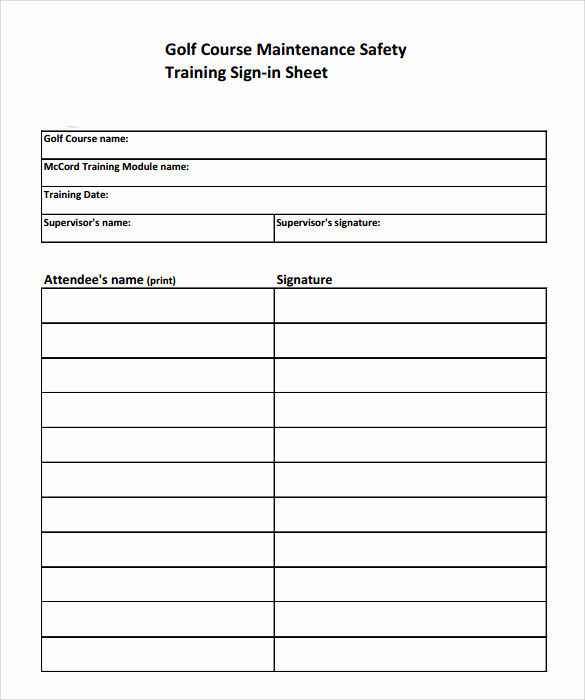 Training Sign In Sheet Awesome Sample Training Sign In Sheet 15 Documents In Pdf