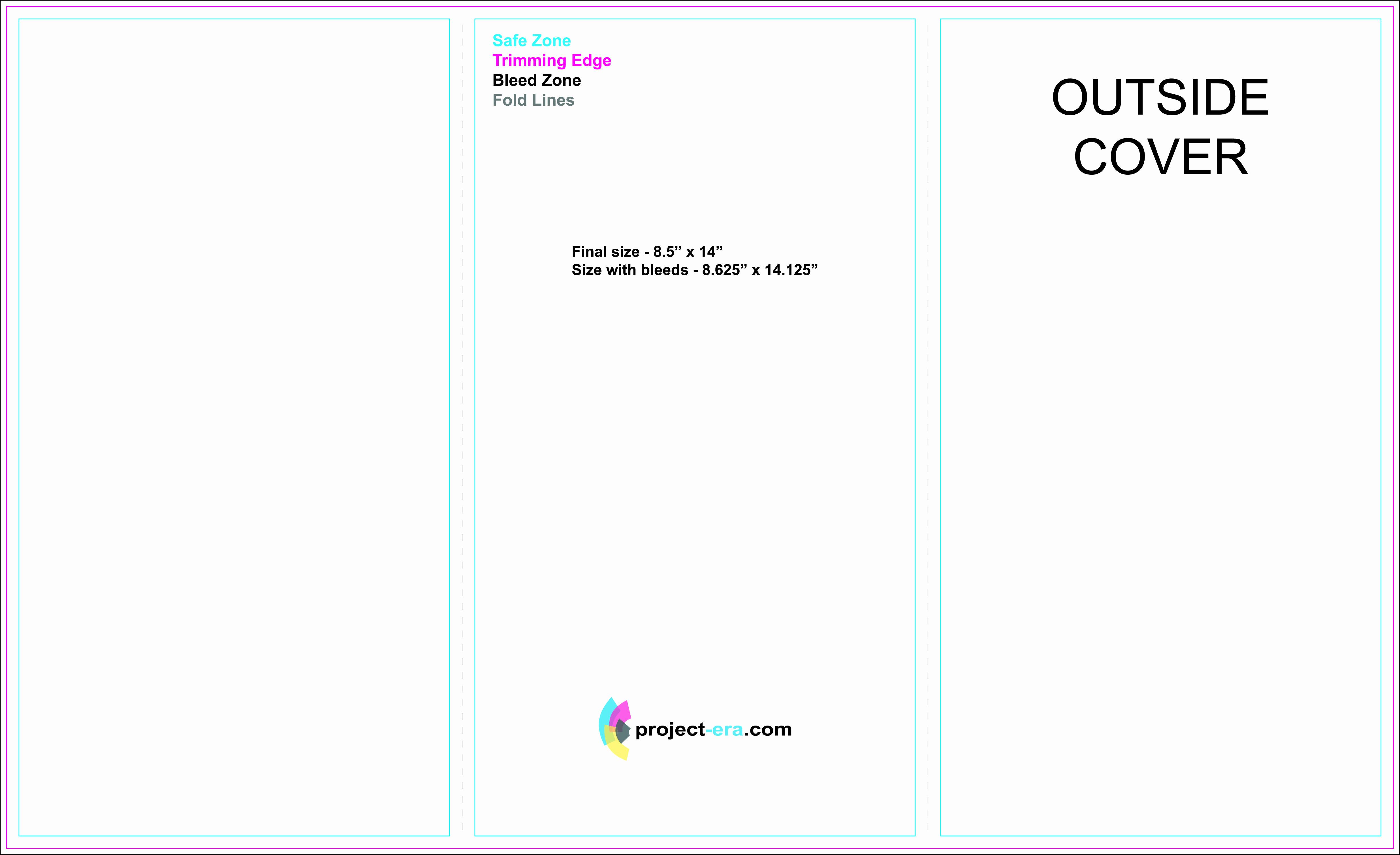 30 Tri Fold Brochure Size | Tate Publishing News