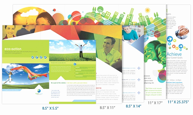 Tri Fold Brochure Size Elegant Brochure Ideas Brochure Design Pinterest