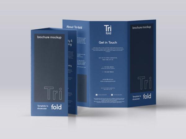 Tri Fold Brochure Size Elegant Brochure Mockup Archives Mockup Love