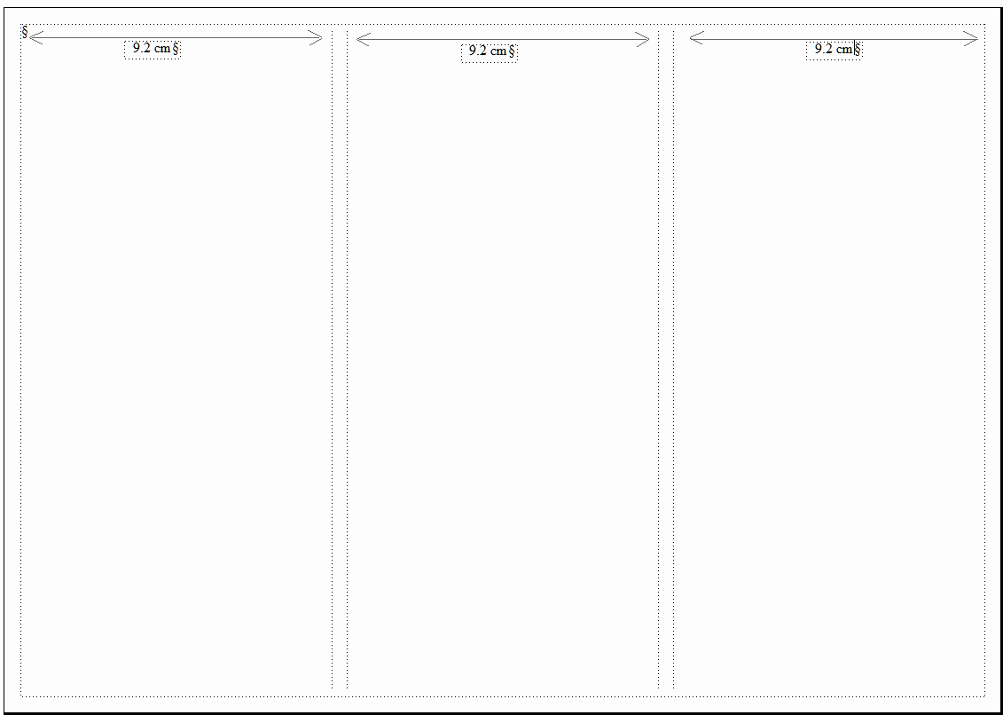 Tri Fold Brochure Size Luxury Design A Tri Fold Brochure In Adobe Framemaker