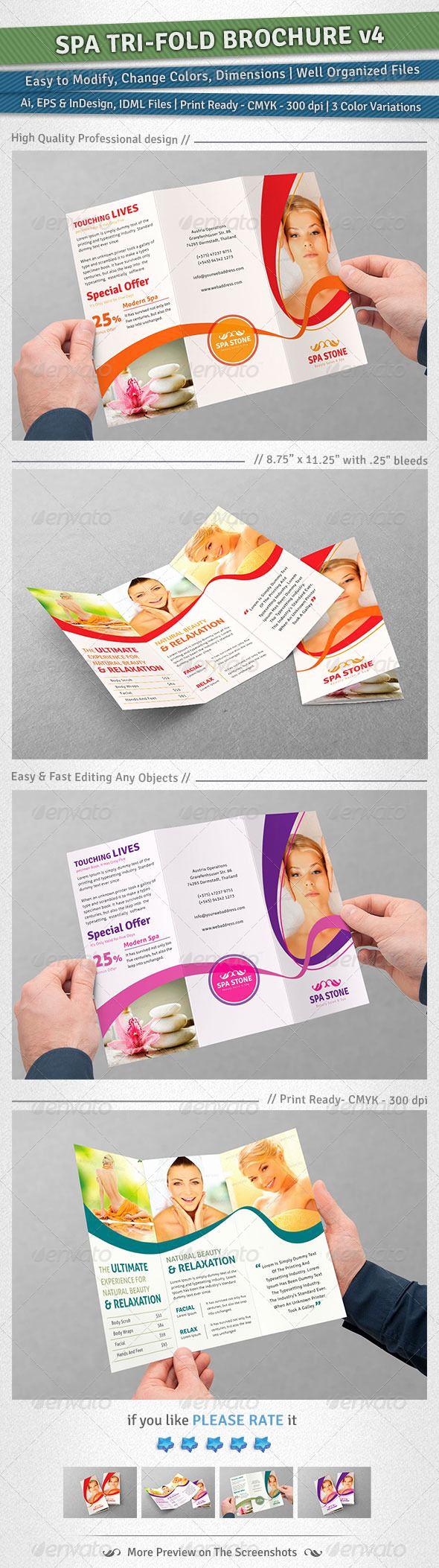 Tri Fold Brochure Size New Best 25 3 Fold Brochure Ideas On Pinterest