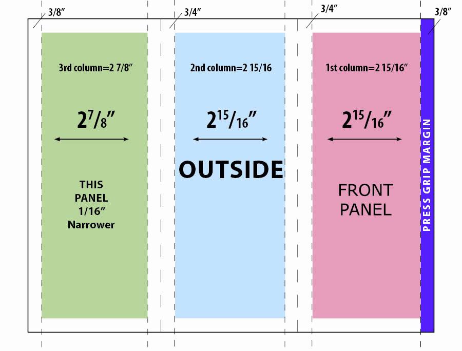 Tri Fold Brochure Size New Legal Size Tri Fold Brochure Template Csoforumfo