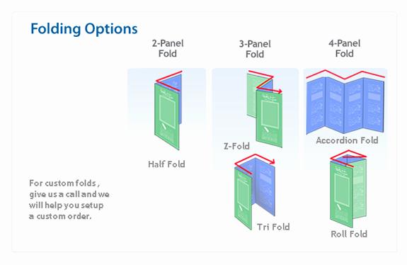 Tri Fold Brochure Size New Standard Brochure Printing Sizes