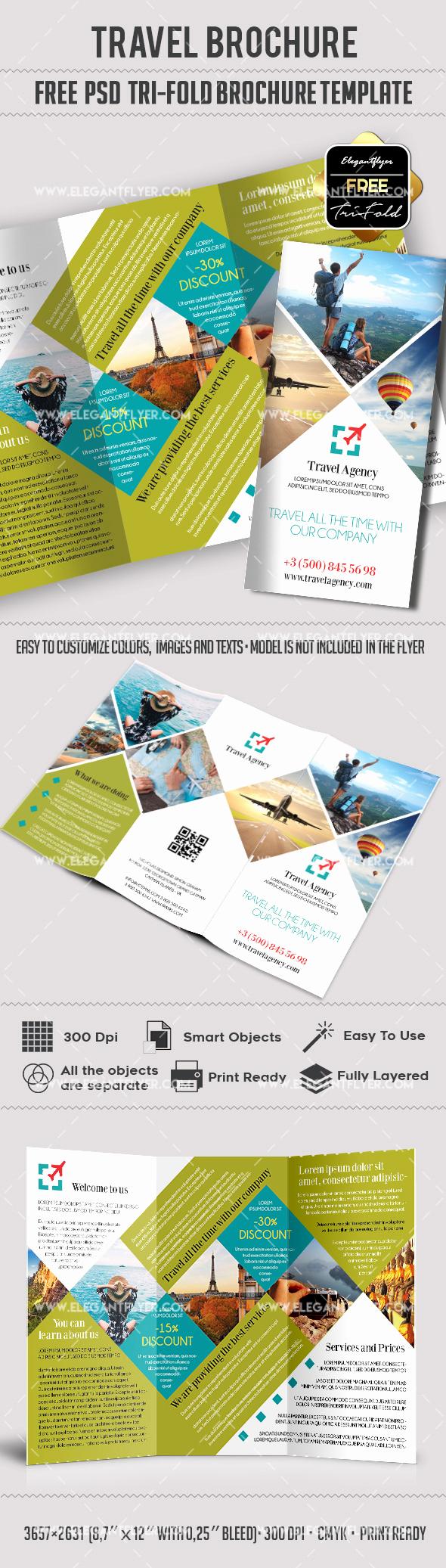 Tri Fold Brochure Template Psd Best Of Travel – Free Psd Tri Fold Psd Brochure Template – by