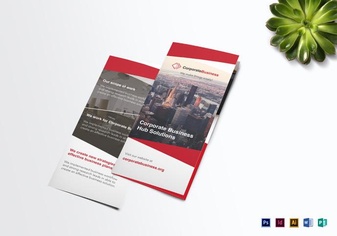Tri Fold Brochure Template Psd Elegant 20 Creative Psd Brochure Templates for Free 2017 Designmaz