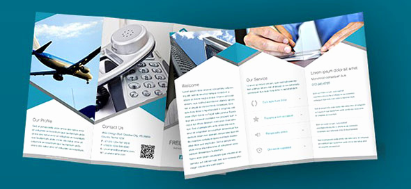 Tri Fold Brochure Template Psd Inspirational 40 Print Ready Brochure Templates
