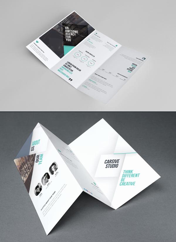 Tri Fold Brochure Template Psd Lovely 50 Free Branding Psd Mockups for Designers
